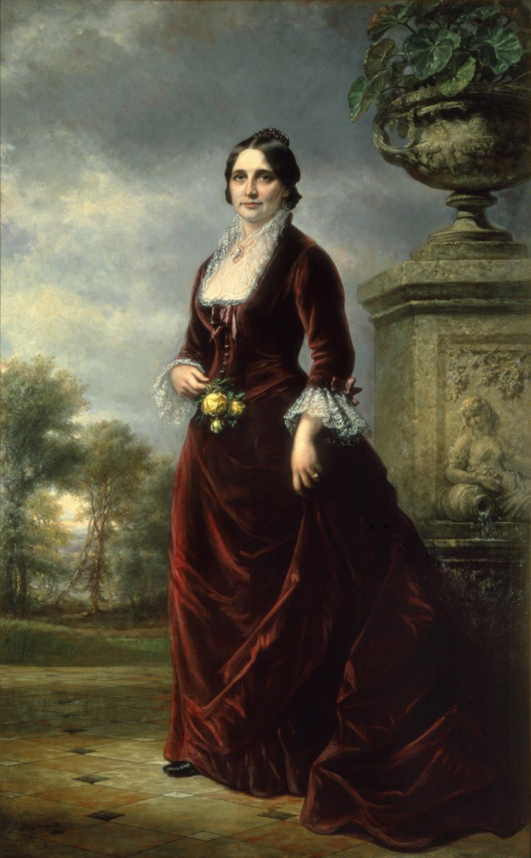 officia portrait of lucy hayes