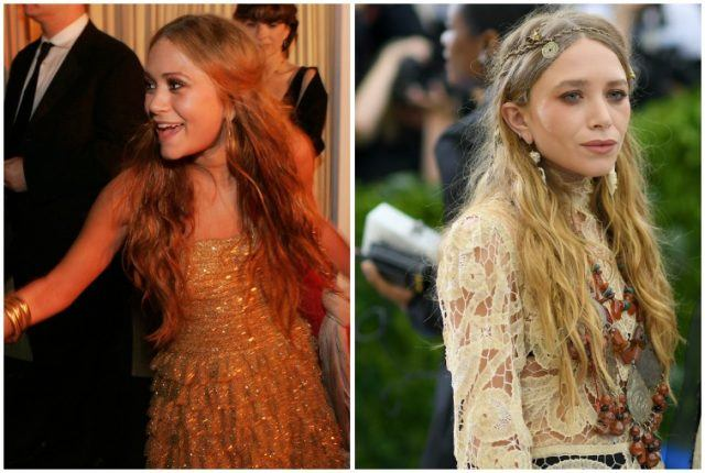 Mary Kate Olsen weight loss and age comparison.