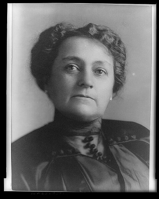 mary dimmick harrison portrait