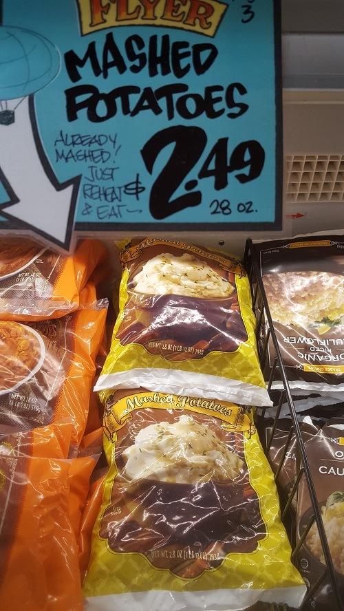 Trader Joe's Mashed Potatoes