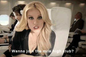 Sex on an Airplane: What It's Really Like to Join the 'Mile High Club'