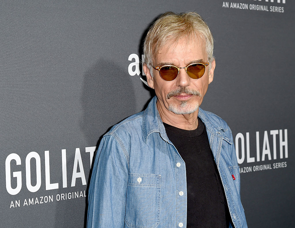 """Actor Billy Bob Thornton arrives at the premiere screening of Amazon's """"Goliath"""""""