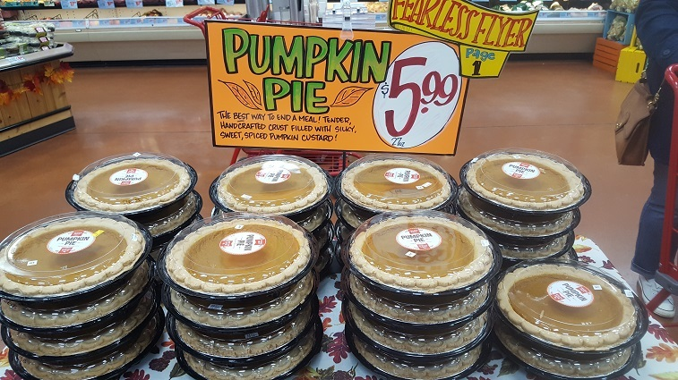 Trader Joe's Pumpkin Pies