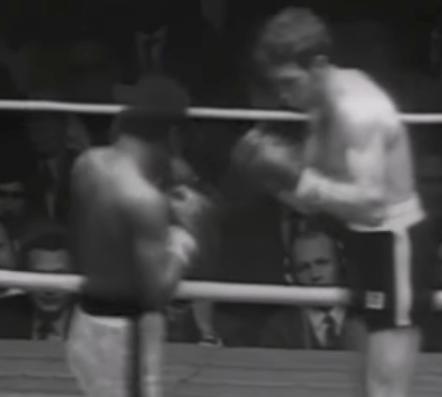Ernie Lopez boxing Jose Napoles