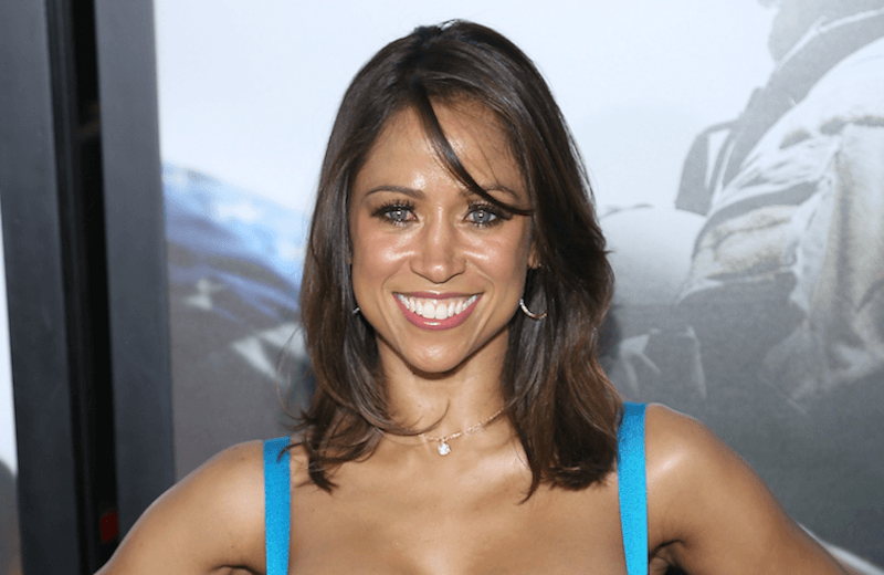 Political commentator and actress Stacey Dash