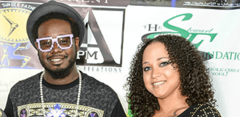 T-Pain and Amber Najm