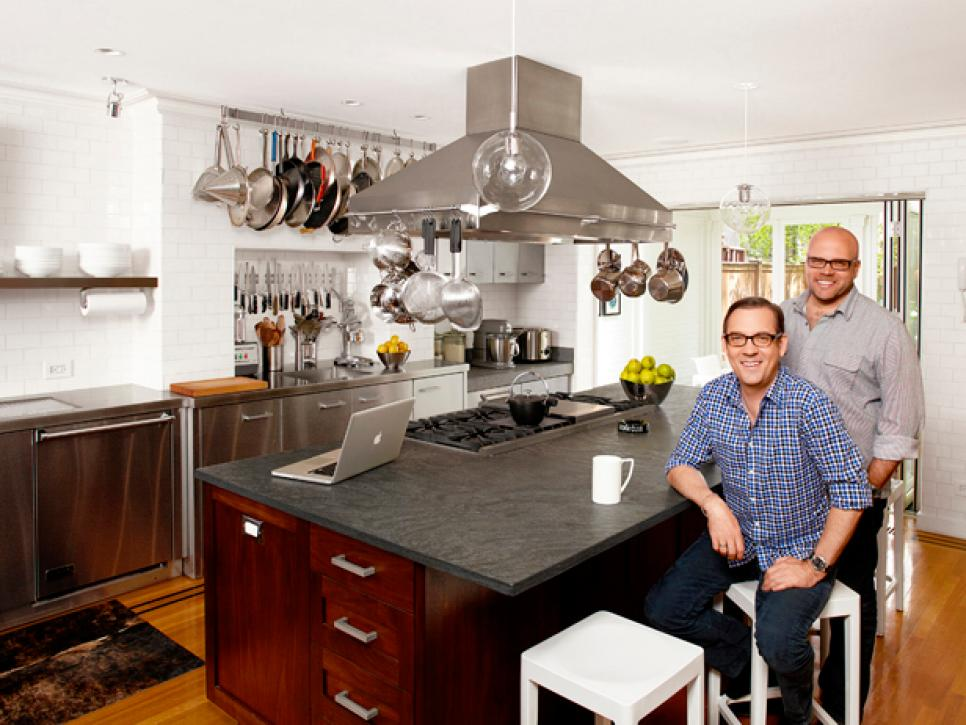 Ted Allen in kitchen