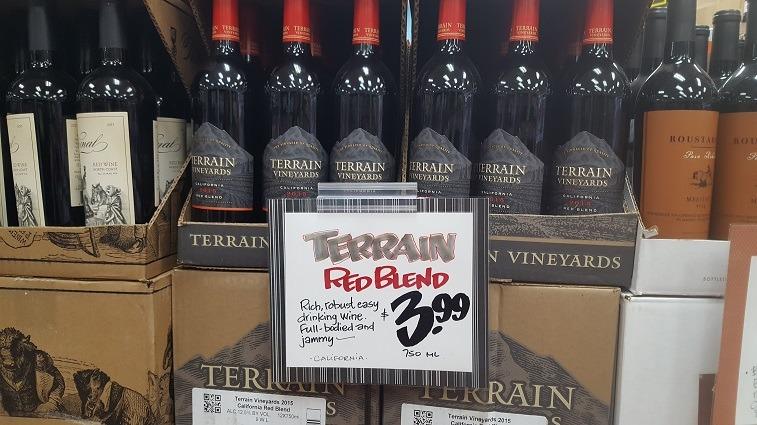 Terrain Vineyards Red Blend Wine