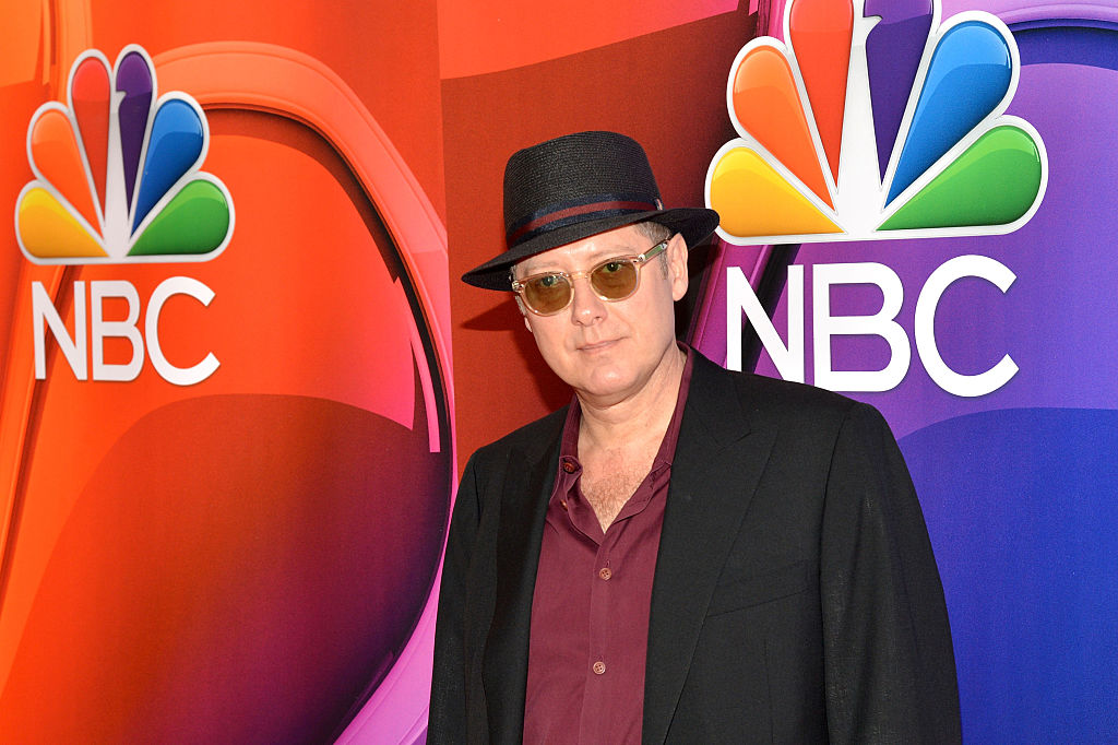 ames Spader attends The 2015 NBC Upfront Presentation at Radio City Music Hall
