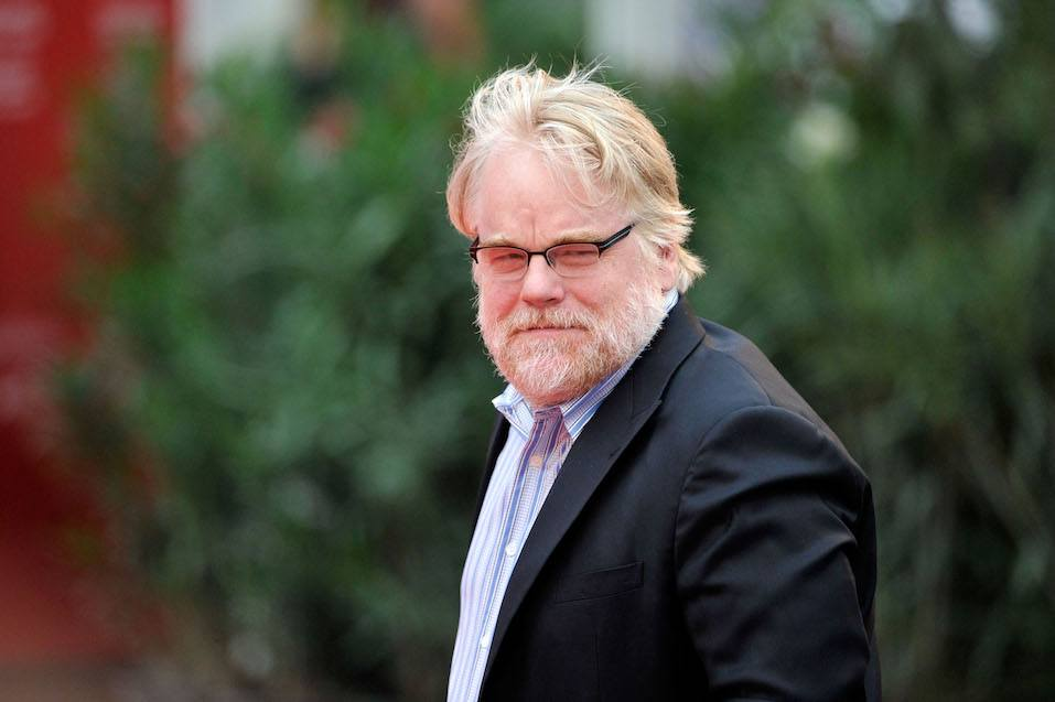 Actor Philip Seymour Hoffman attends 'The Master' Premiere during The 69th Venice Film Festival