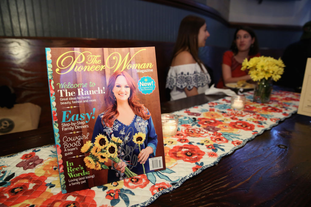 The Pioneer Woman Magazine on display during The Pioneer Woman Magazine Celebration
