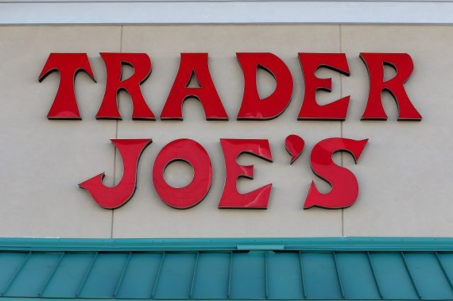 Sign at Trader Joe's