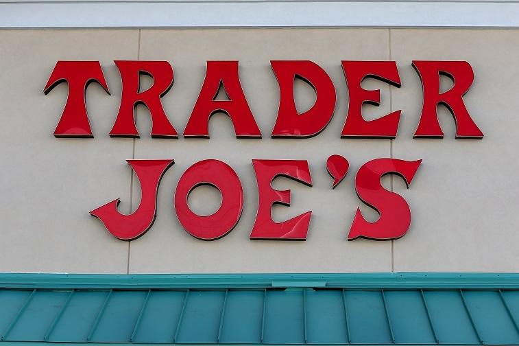 Sign at Trader Joe's