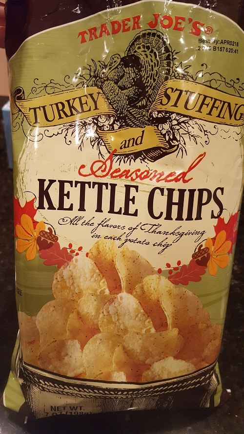 Turkey and Stuffing Chips