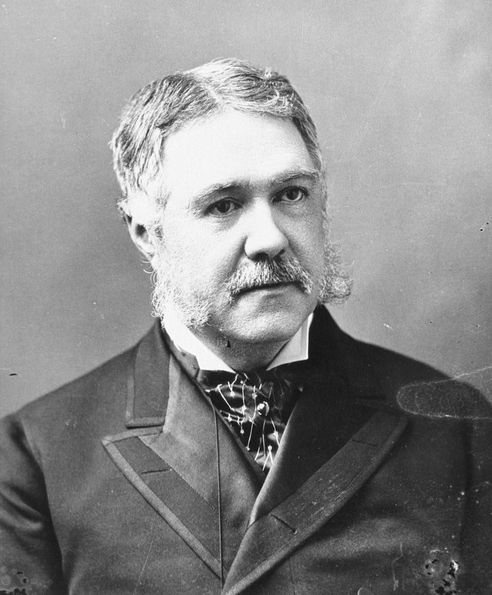 United States President Chester A. Arthur