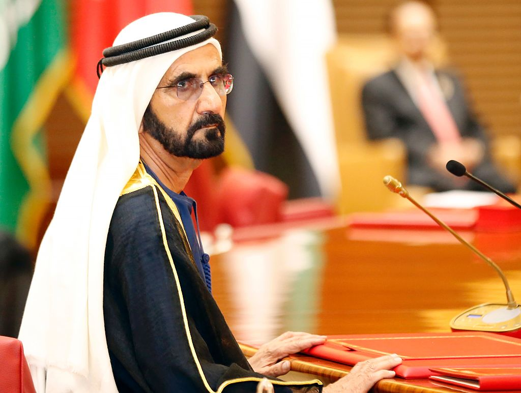 UAE Prime Minister Sheikh Mohammed bin Rashid al-Maktoum