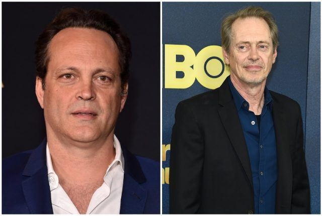 Vince Vaughn and Steve Buscemi collage