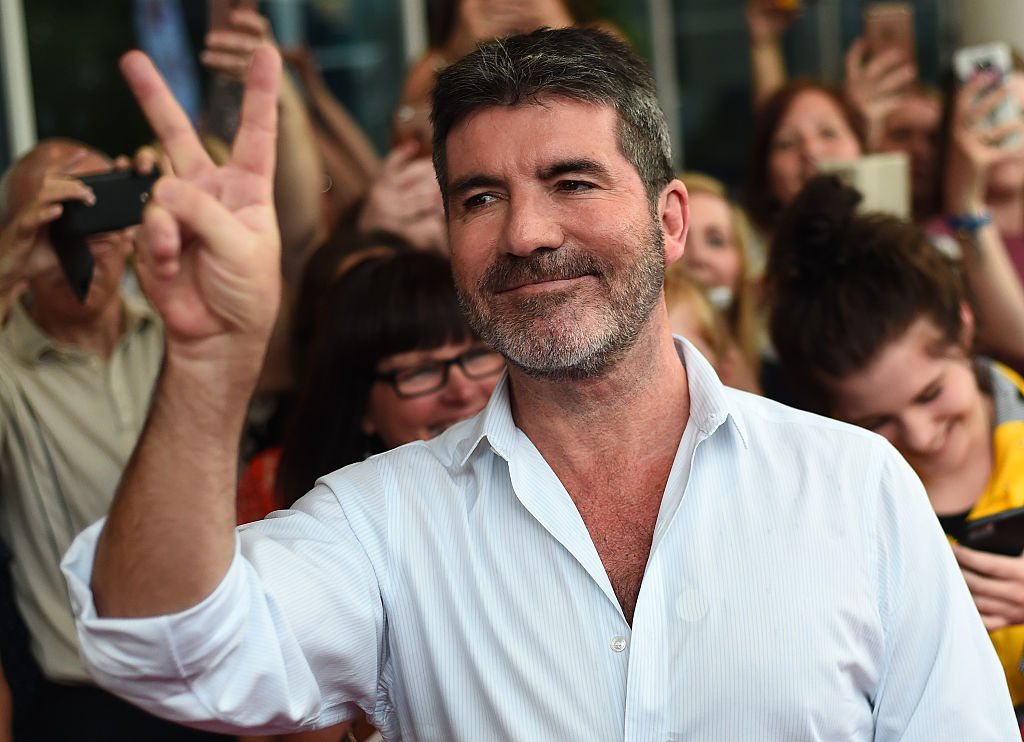 Simon Cowell arrives for the first X Factor auditions