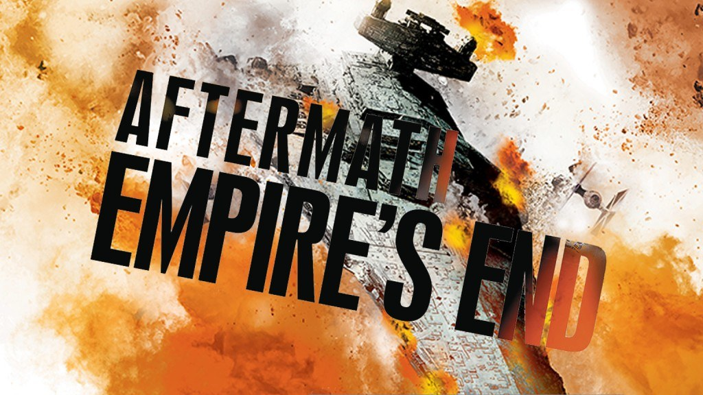 The cover of Aftermath: Empire's End