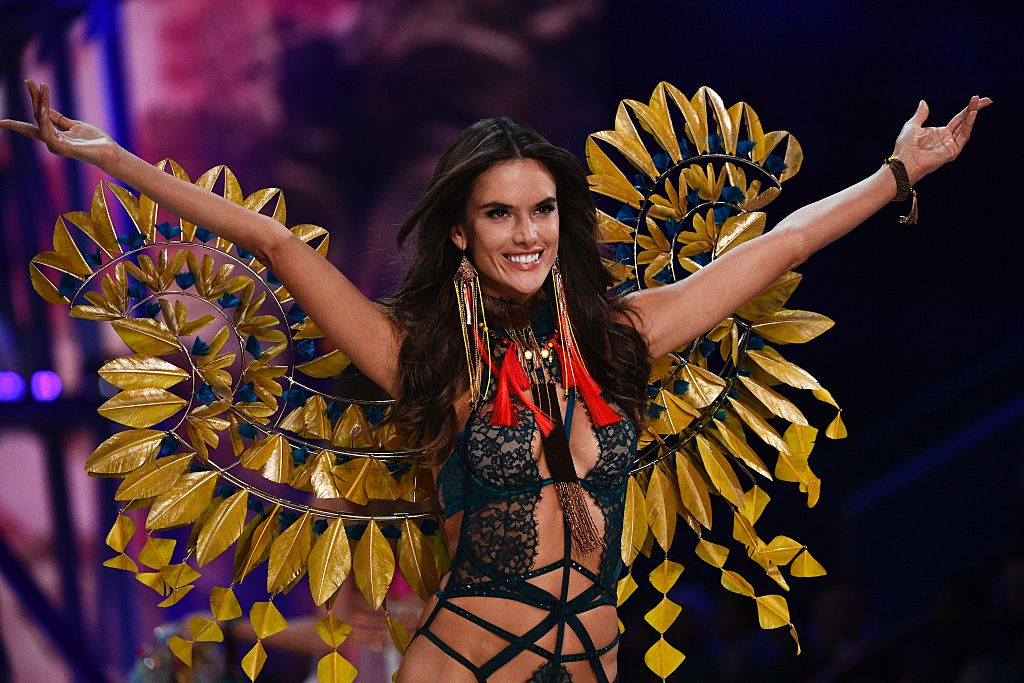 Alessandra Ambrosio Victoria's Secret Fashion Show