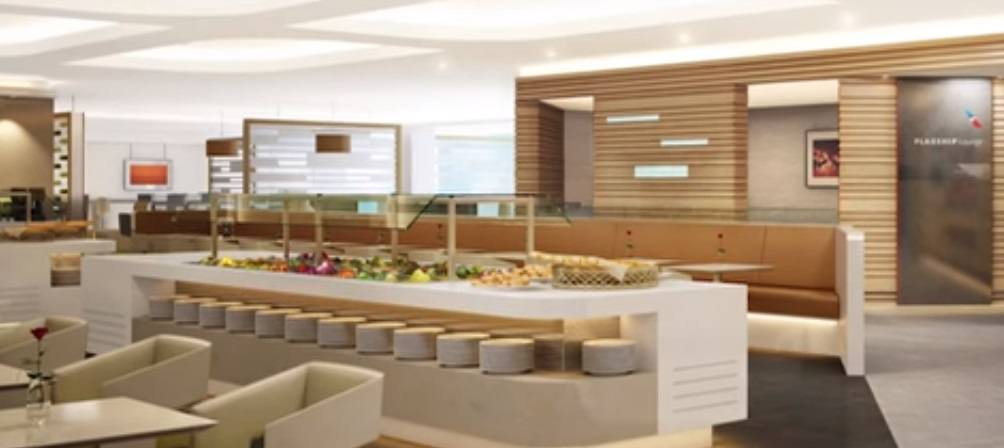 American Airlines Flagship Lounge LAX