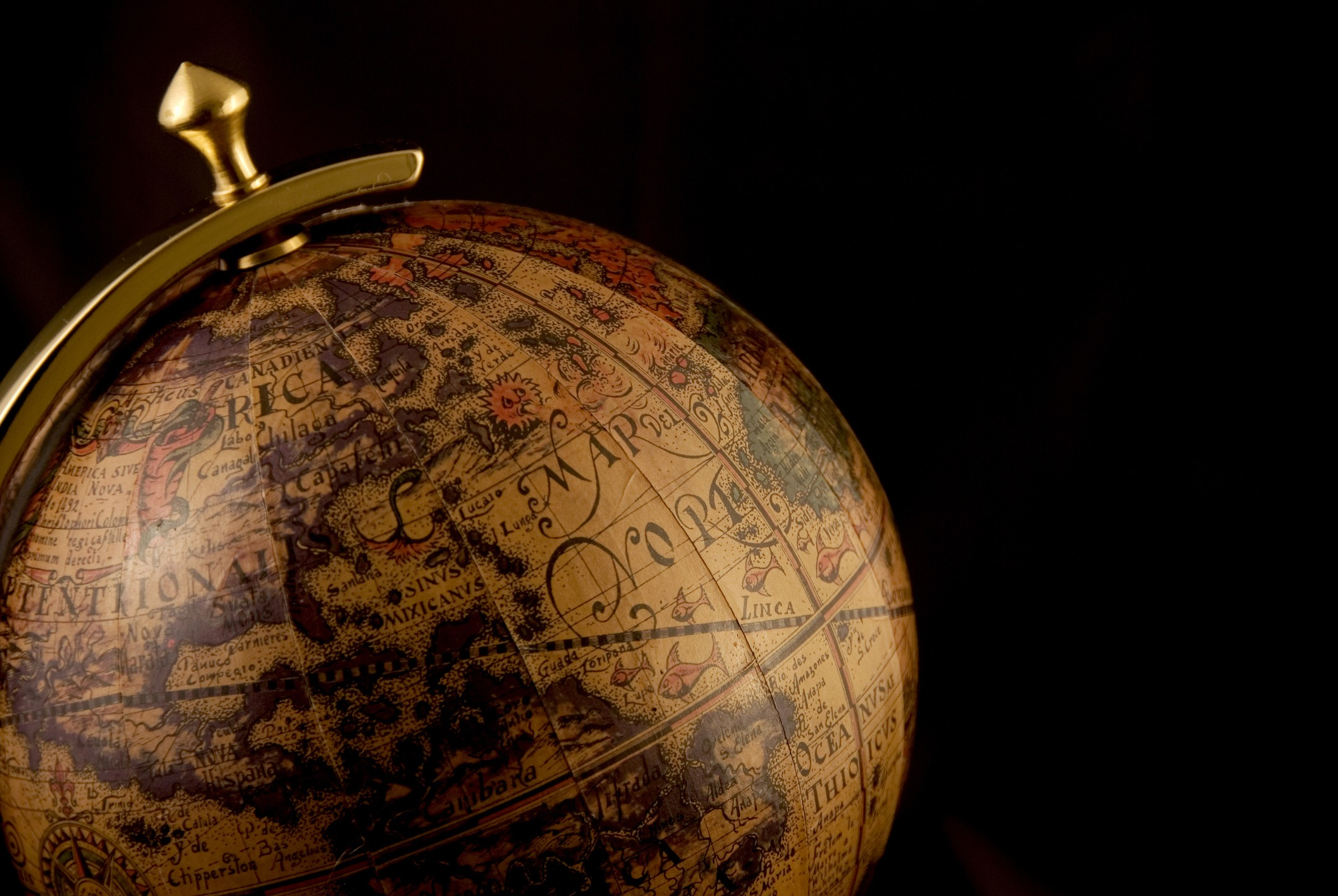 Antique globe