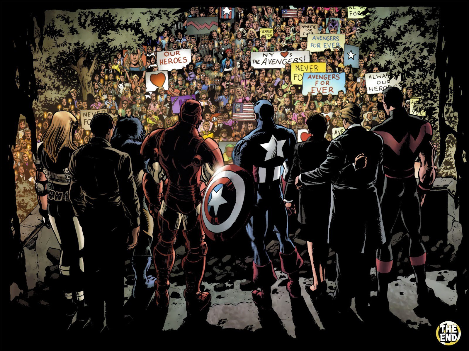 Art from Avengers: Disassembled