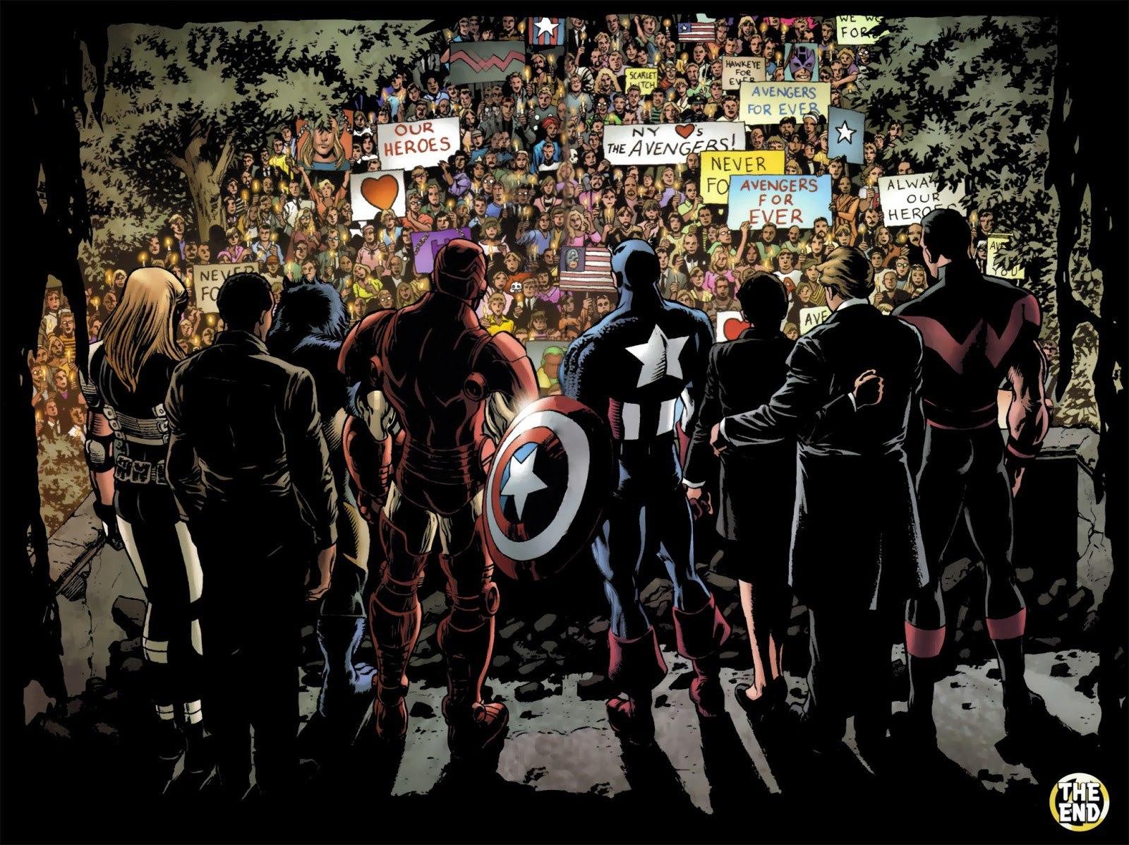 Art from Avengers: Disassembled