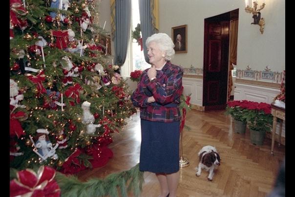 barbara bush christmas tree