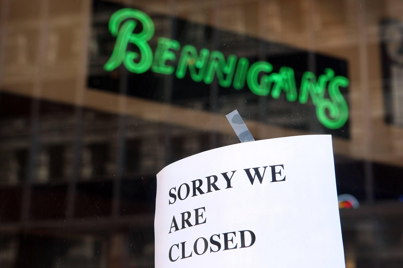 Bennigan's restaurant