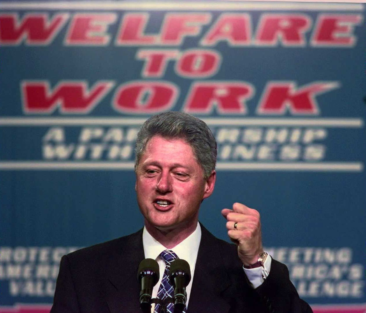 Bill Clinton Welfare Reform