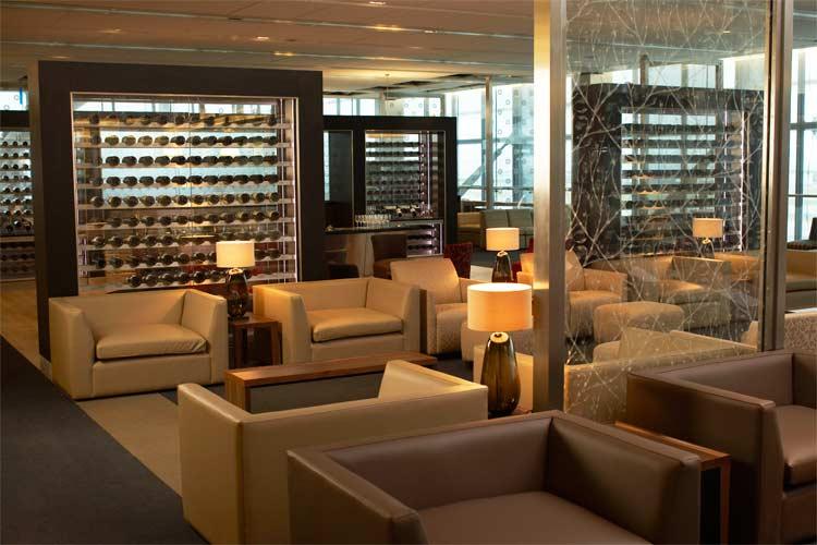 British Airways Concord Lounge JFK