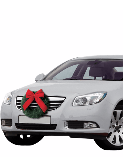 Christmas Car Wreath