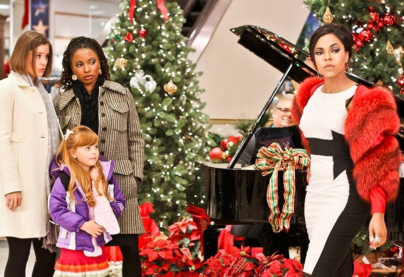 Ashley Williams, Shanola Hampton, and Ashanti in Christmas in the City