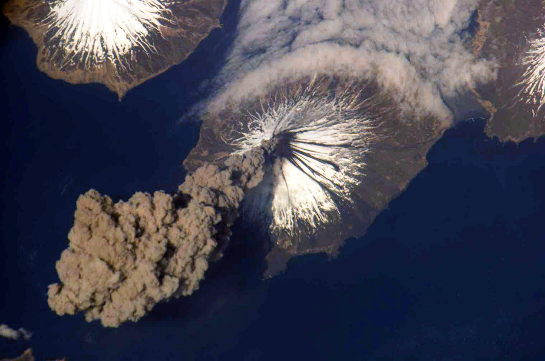 Mt. Cleveland Volcano in Alaska