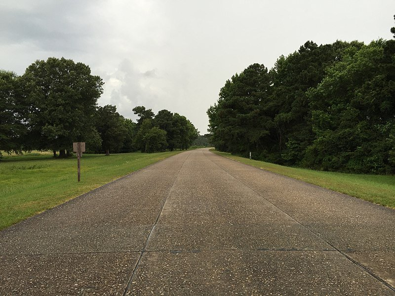 The Colonial Parkway in Virginia