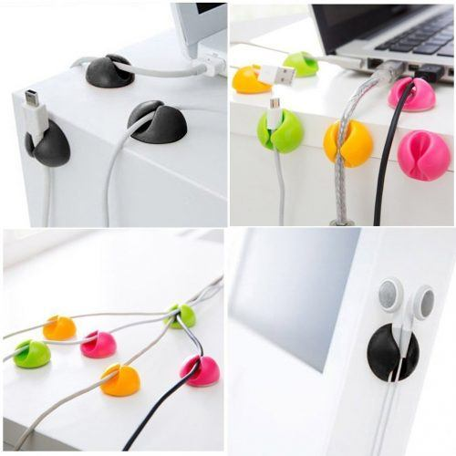 Cable Wire Clips Cord Holder Management System