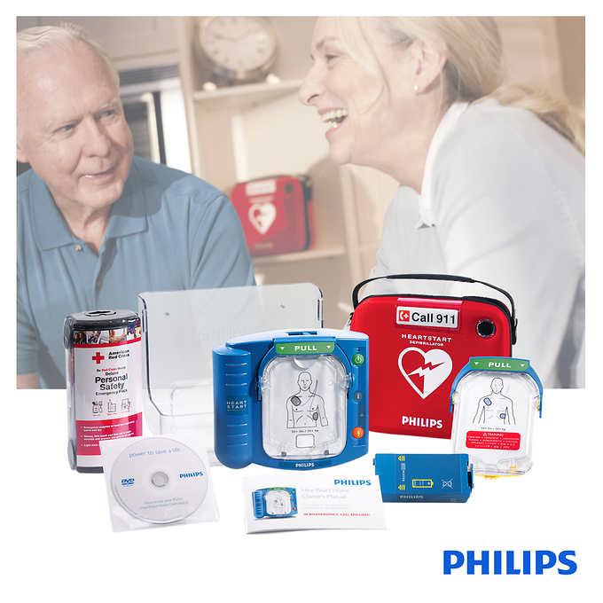 Costco home defibrillator