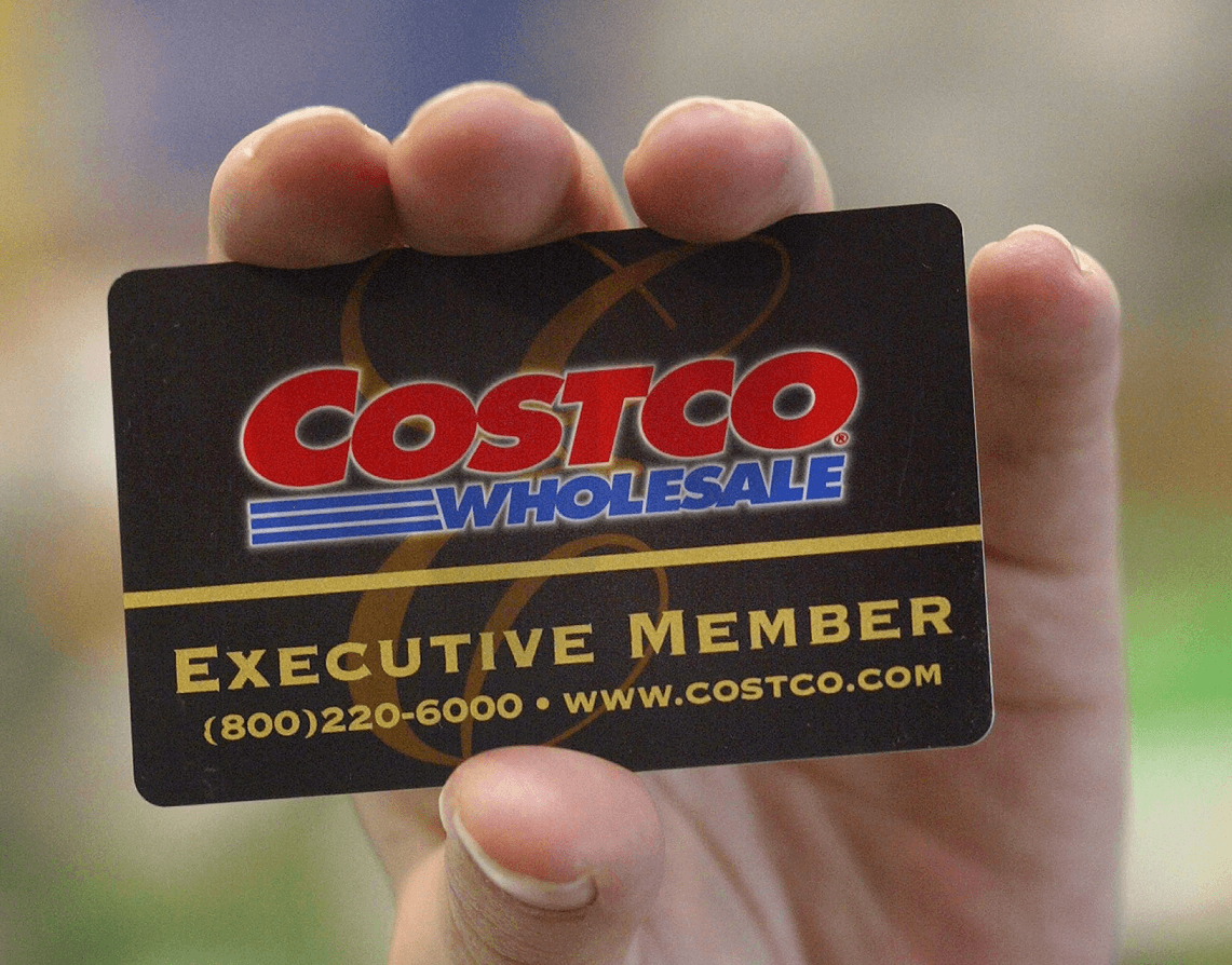 a costco loyalty card