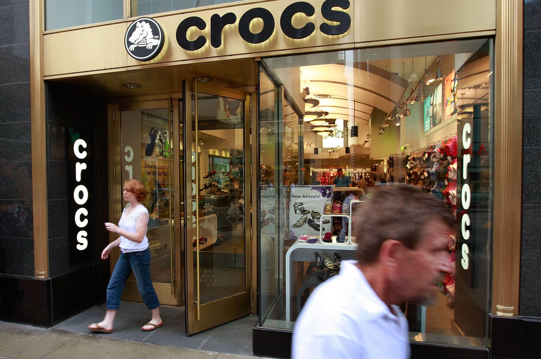 Crocs store