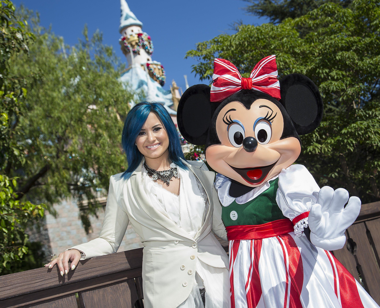 Demi Lovato at Disney