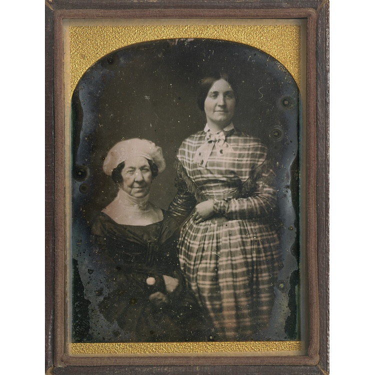 A photograph of Dolley Madison and Anna Payne