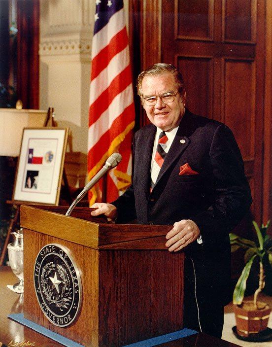 Dolph Briscoe, Texas Governor