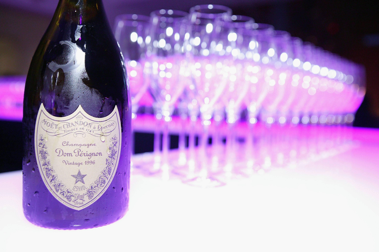 Dom Perignon champagne