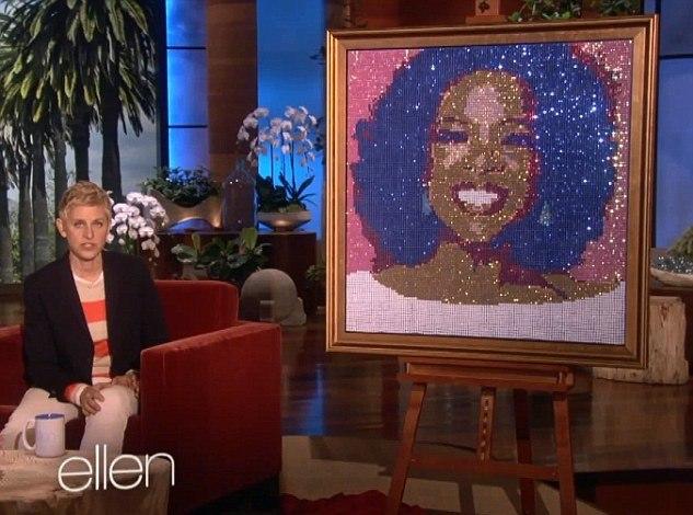 Ellen DeGeneres Oprah Portrait