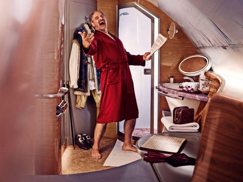 Emirates First Class Travel