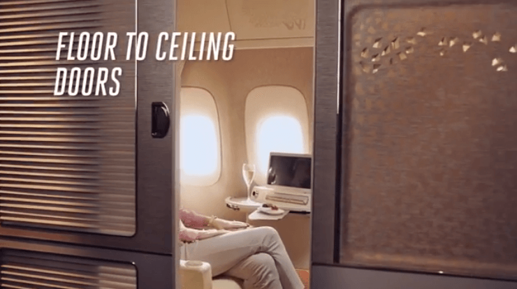 Emirates First Class Travel