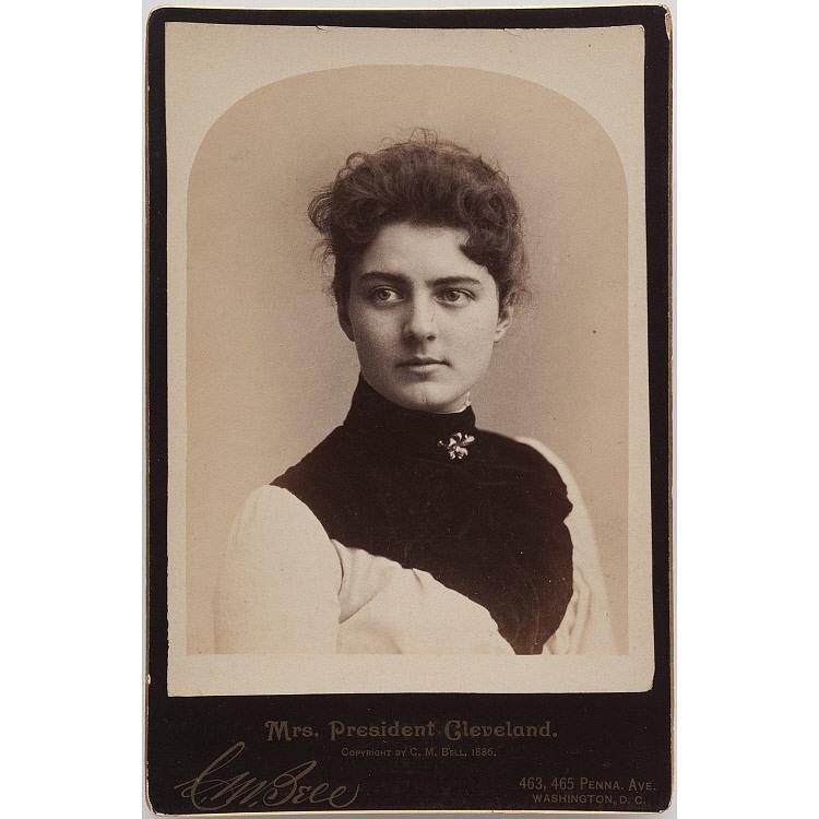 frances cleveland portrait