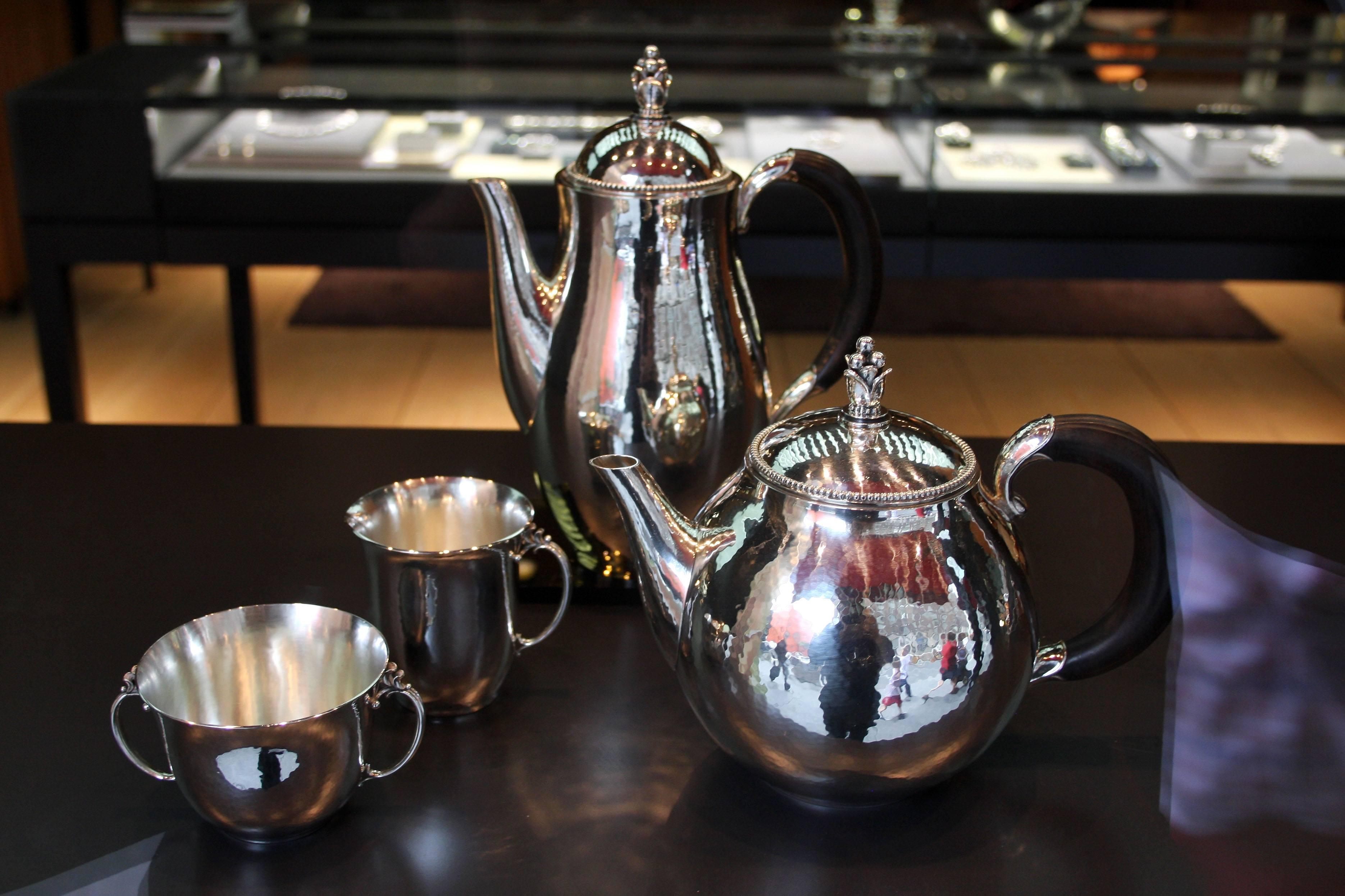 Georg Jensen silver dishes