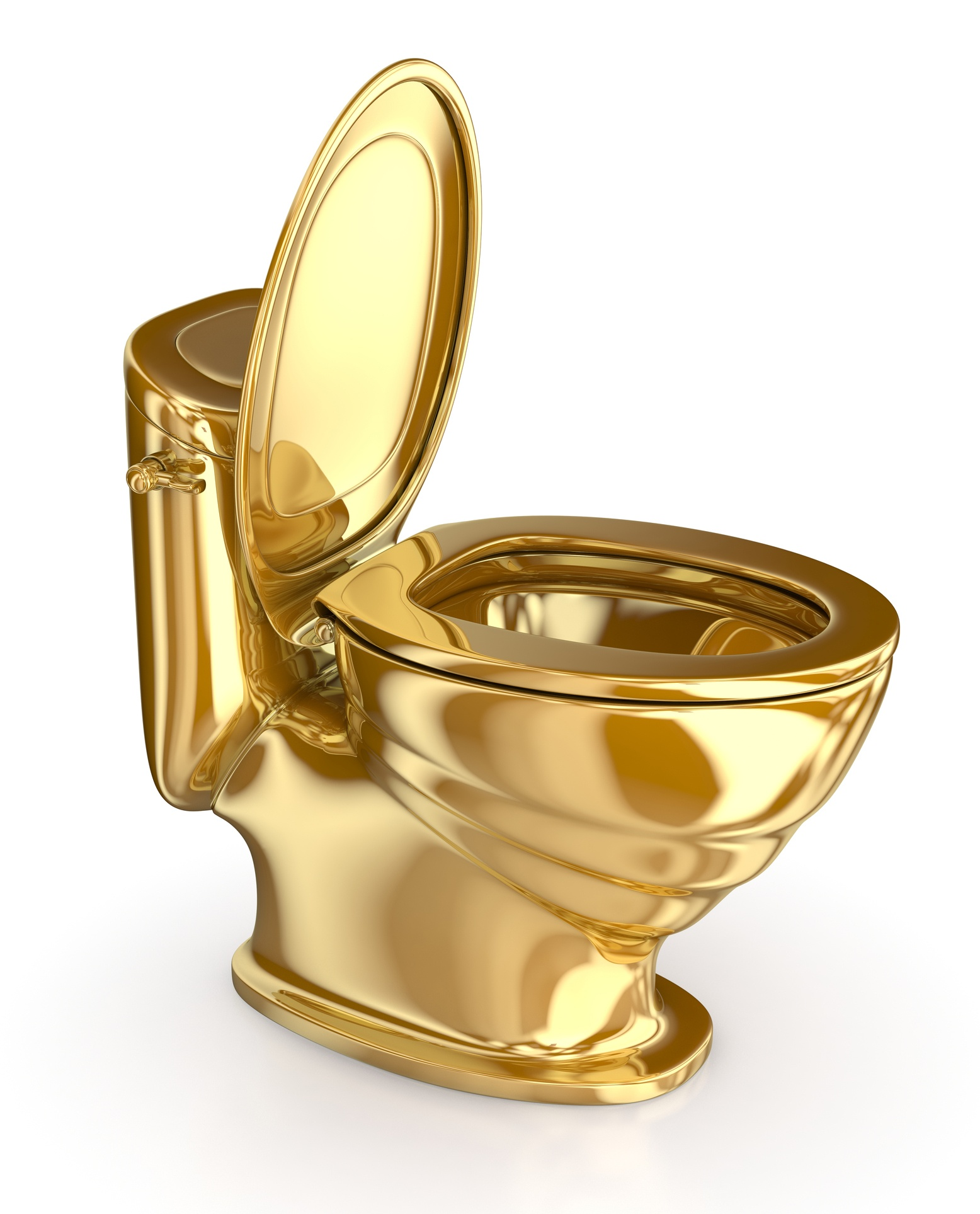 Gold Toilet